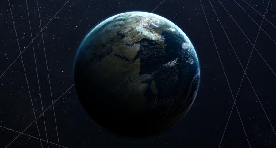 A Terra é o planeta que apresenta condições para a existência de vida.