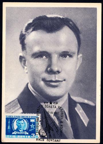 O soviético Yuri Gagarin foi o primeiro homem a ser enviado ao espaço, em 1961.****