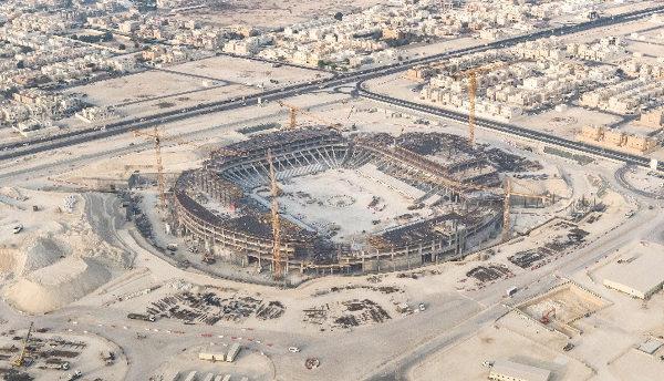 Estádio Al Thumama terá capacidade para 40 mil pessoas. (Crédito: Divulgação)