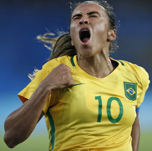 Marta — melhor jogadora do mundo. (Crédito: Shutterstock | Antonio Scorza)