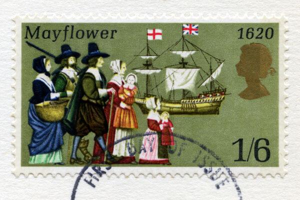 Os pais peregrinos são considerados os fundadores dos EUA.*