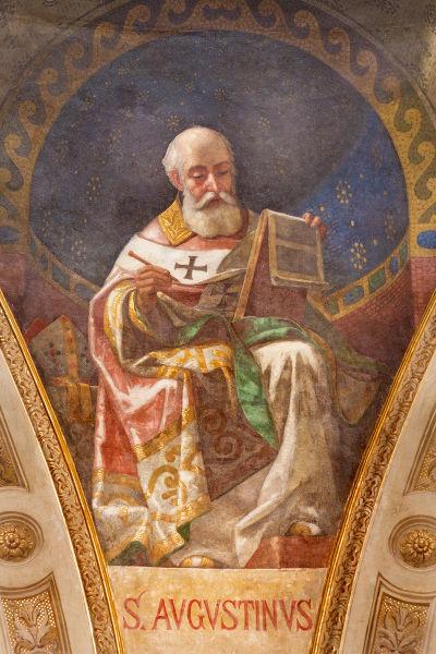 Santo Agostinho, o Bispo de Hipona.