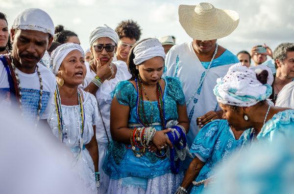 No Brasil o Dia de Iemanjá é comemorado, em sua maior parte, por devotos do candomblé e da umbanda. [3]