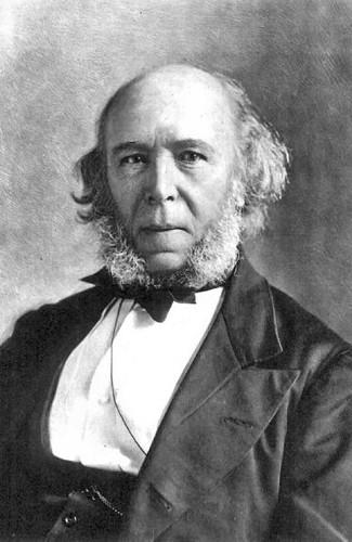 Herbert Spencer foi bastante influenciado pelo pensamento de Charles Darwin.