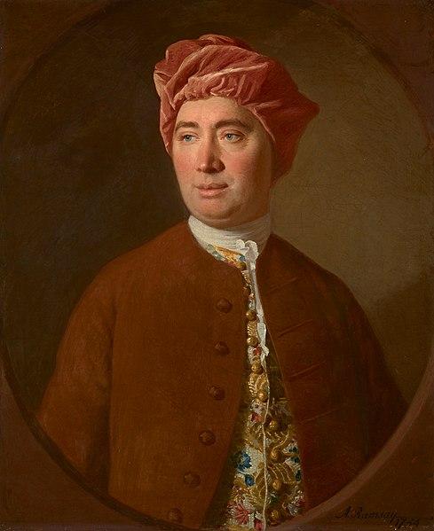 David Hume é um dos expoentes da filosofia moderna.