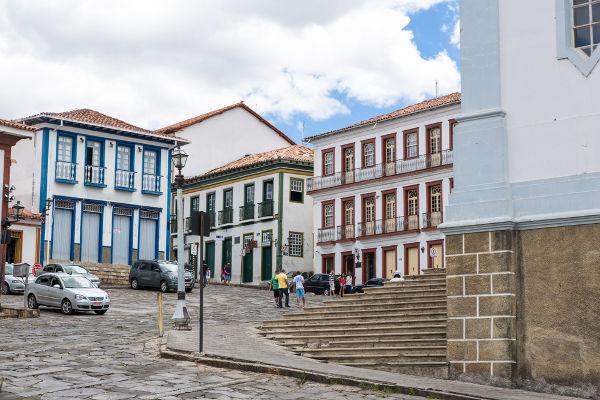 Chica da Silva morou em Diamantina, uma das principais cidades de Minas Gerais no período da mineração.[2]