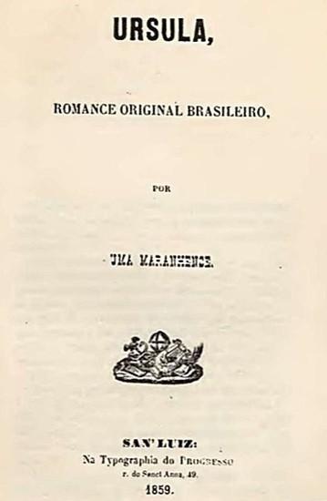 Contracapa do romance Úrsula.
