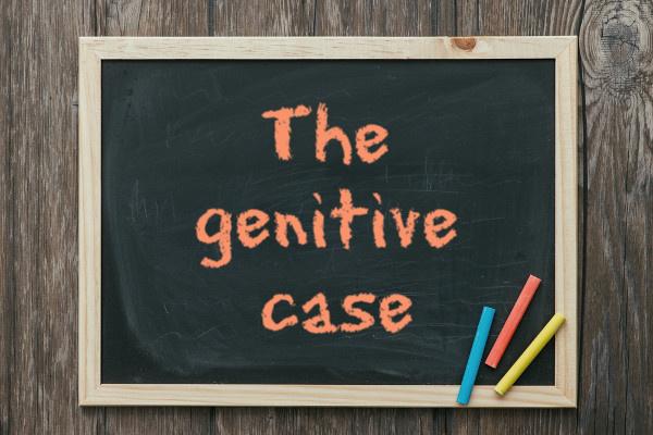 O genitive case expressa posse em inglês.