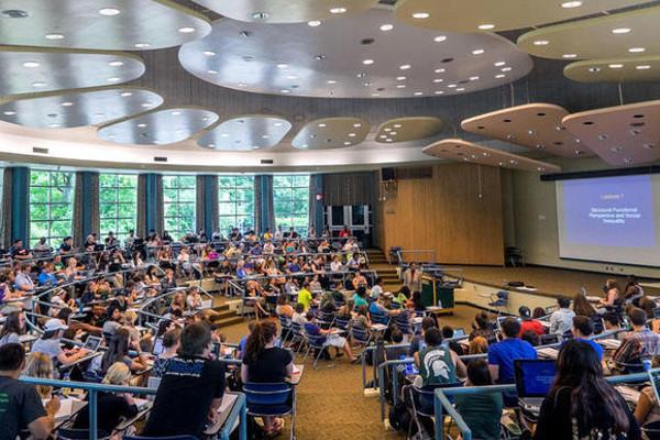 Michigan State University (MSU), nos Estados Unidos (Crédito: Hotcourses)