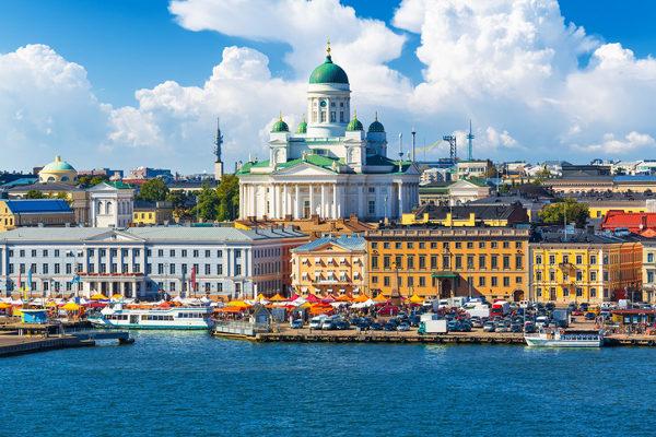 Helsinque, capital da Finlância