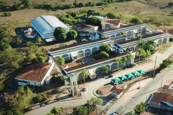 Vista aérea do IFS - Campus Lagarto. Foto: Demóstenes Varjão
