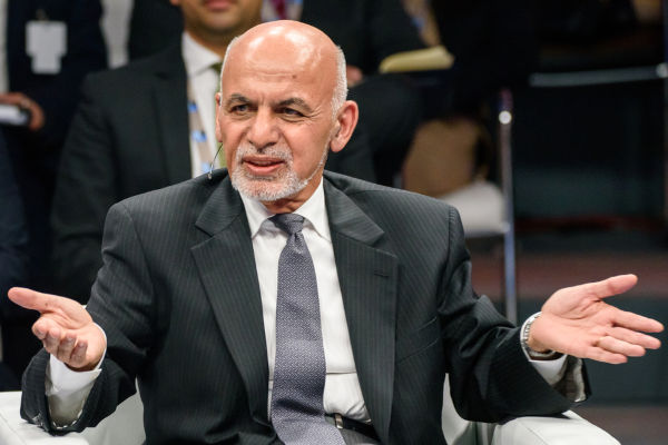 Presidente do Afeganistão, Ashraf Ghani.